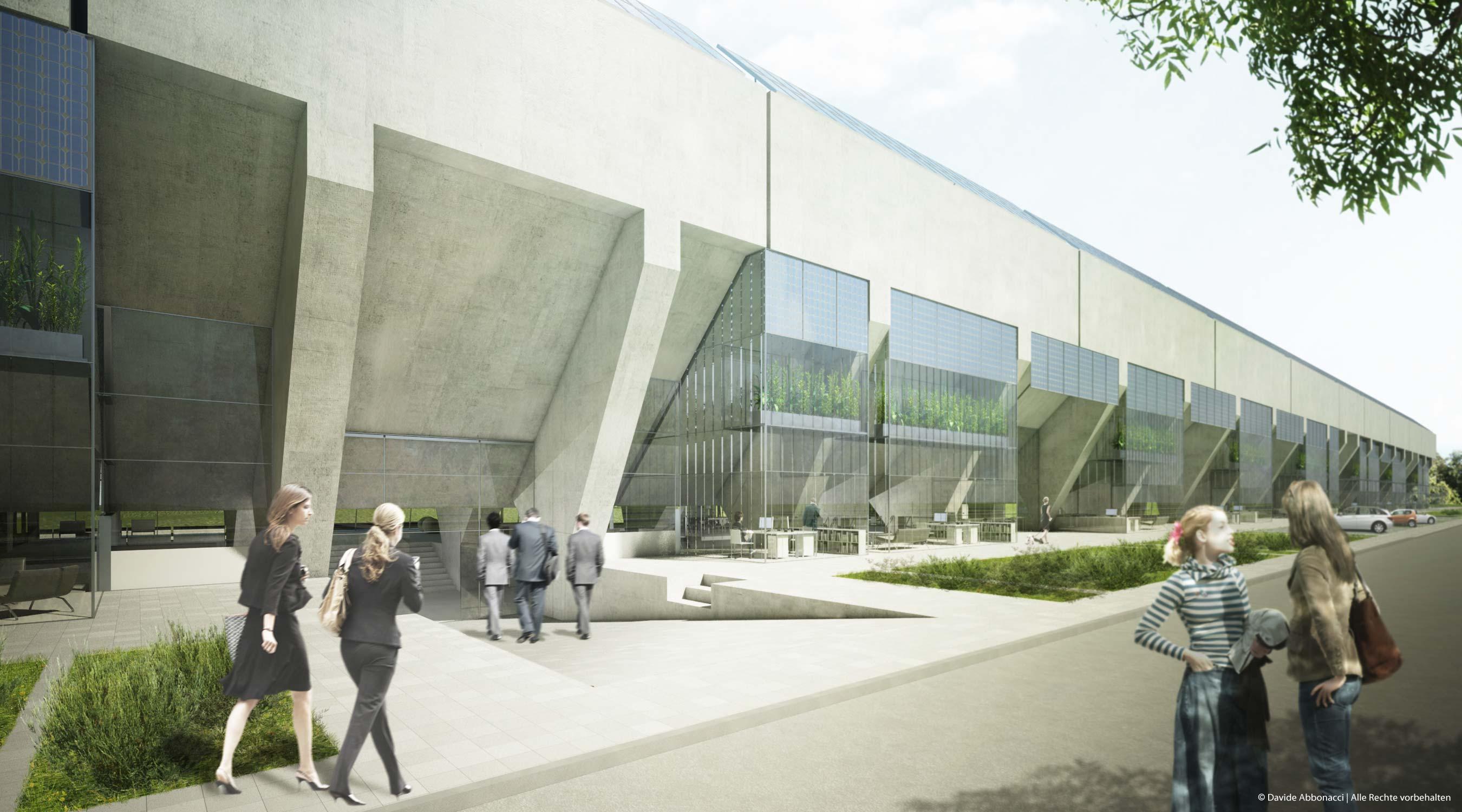 Umbau Erz- und Kohlebunker, Gelsenkirchen   ind-initialdesign   2010 Studie