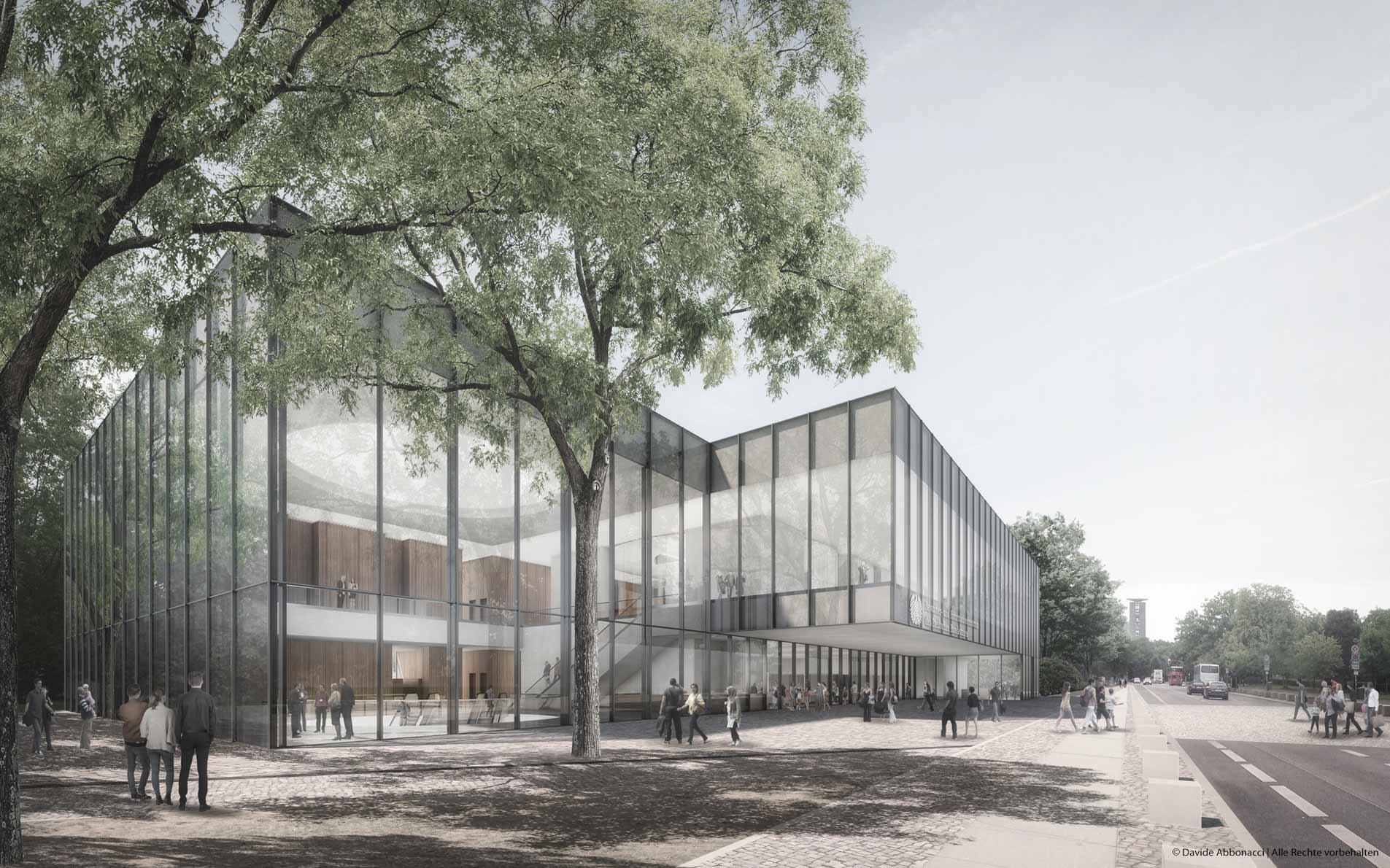 Besucher- und Informationszentrum des Deutschen Bundestages, Berlin   Weis & Volkmann Architekten   2016 Wettbewerbsvisualisierung