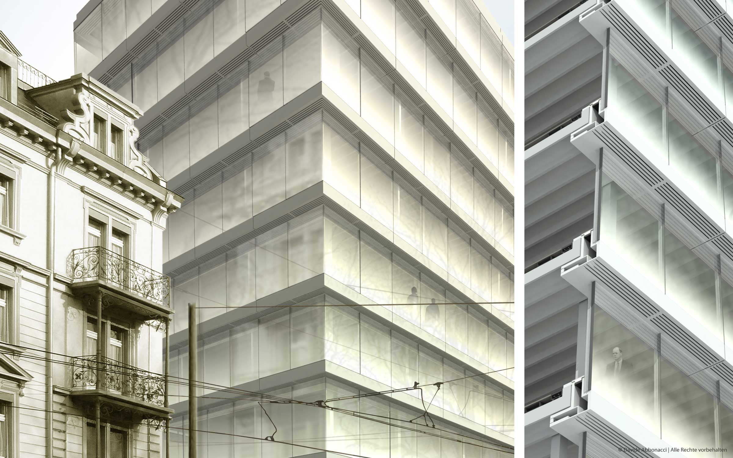 ETH, Zürich | Heide - Von Beckerath - Alberts Architekten | 2007 Wettbewerbsvisualisierung