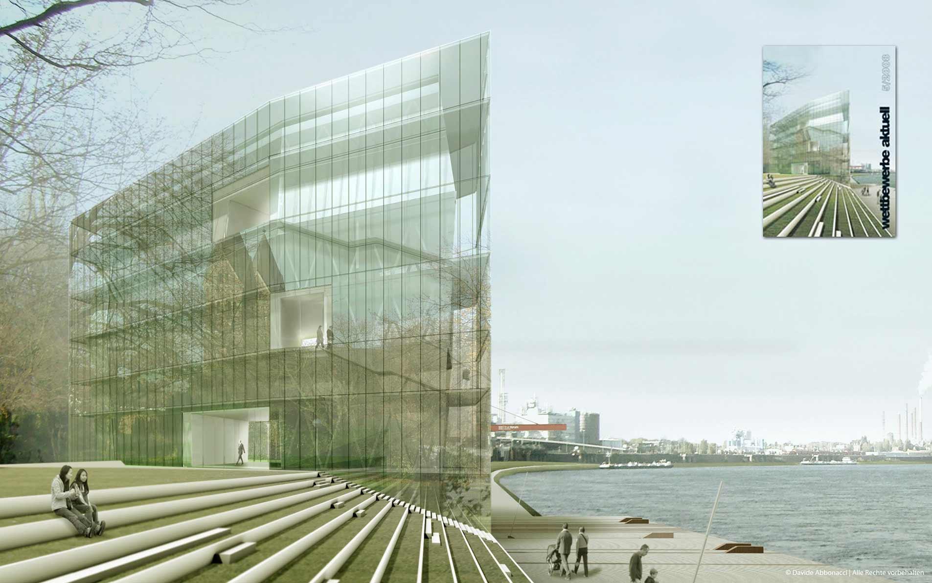 :Chemtech - Ruthmanns Wiese, Wesseling | Bruno Fioretti Marquez Architekten | 2008 Wettbewerbsvisualisierung | 1. Preis