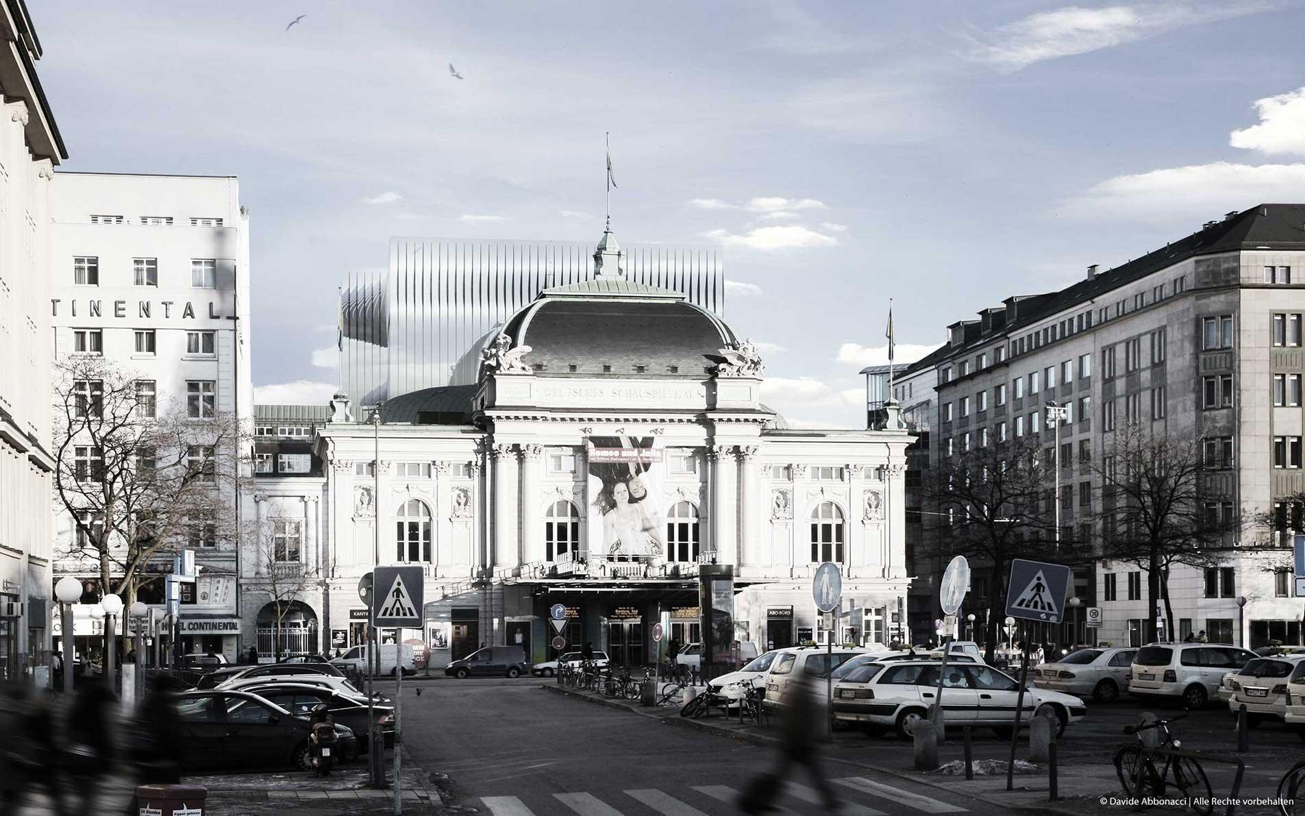 Deutsches Schauspielhaus Hamburg | Heide & Von Beckerath Architekten | 2010 Wettbewerbsvisualisierung | Finalist