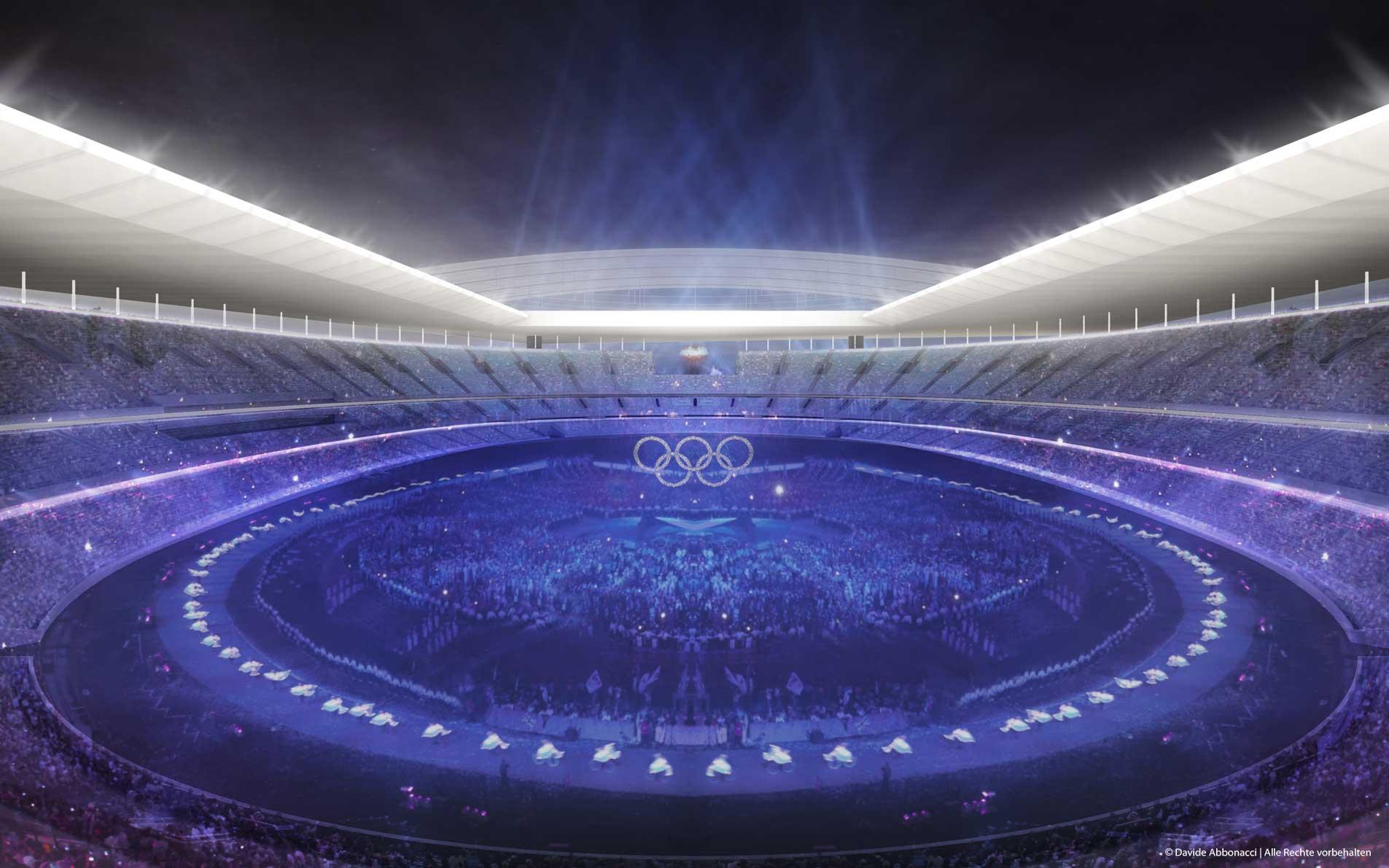 New National Stadium Tokyo, Japan | David Chipperfield Architects | 2012 Wettbewerbsvisualisierung
