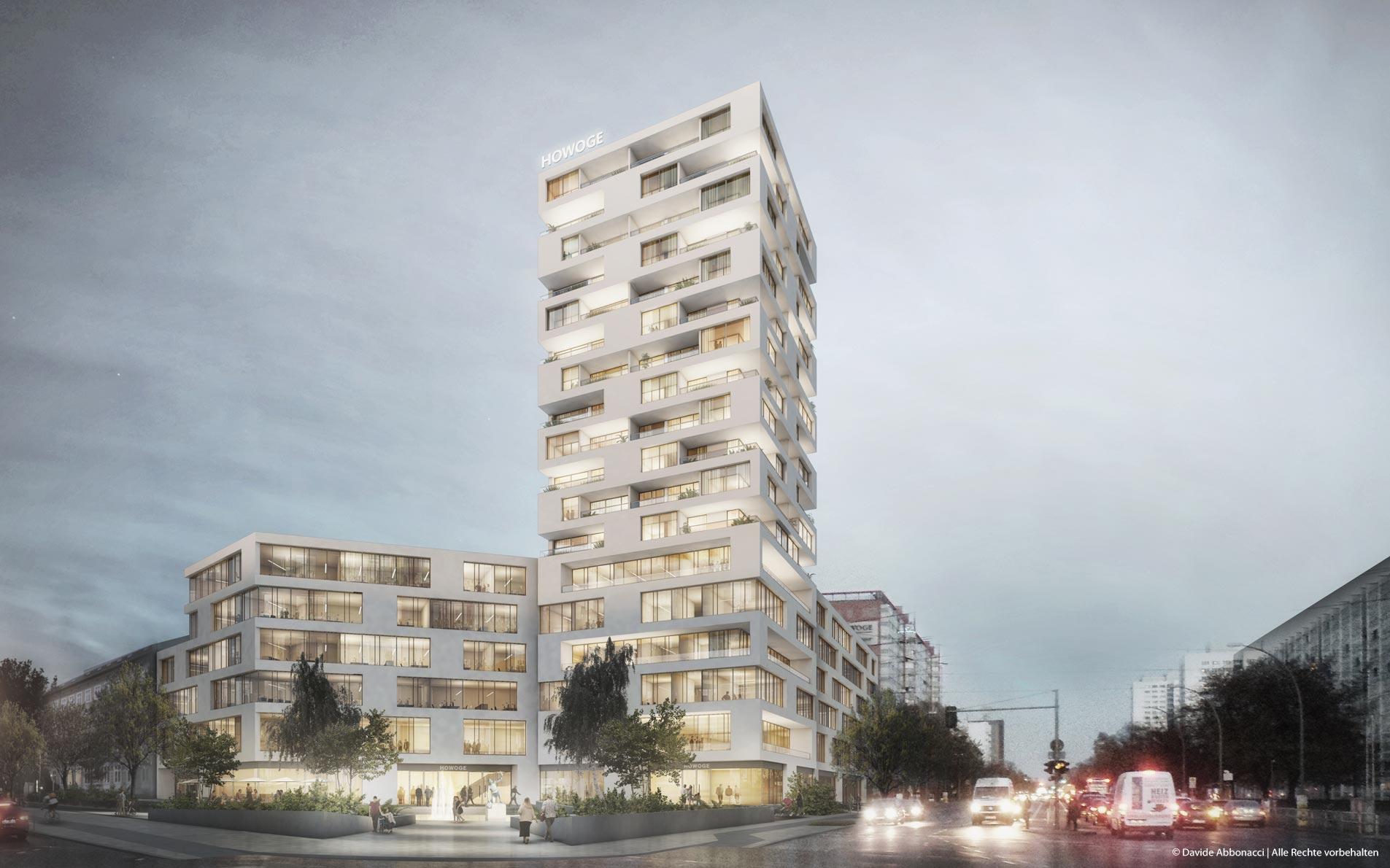 Frankfurter Allee 135, Berlin   Gewers Pudewill Architekten mit brh Architekten + Ingenieure   2017 Wettbewerbsvisualisierung