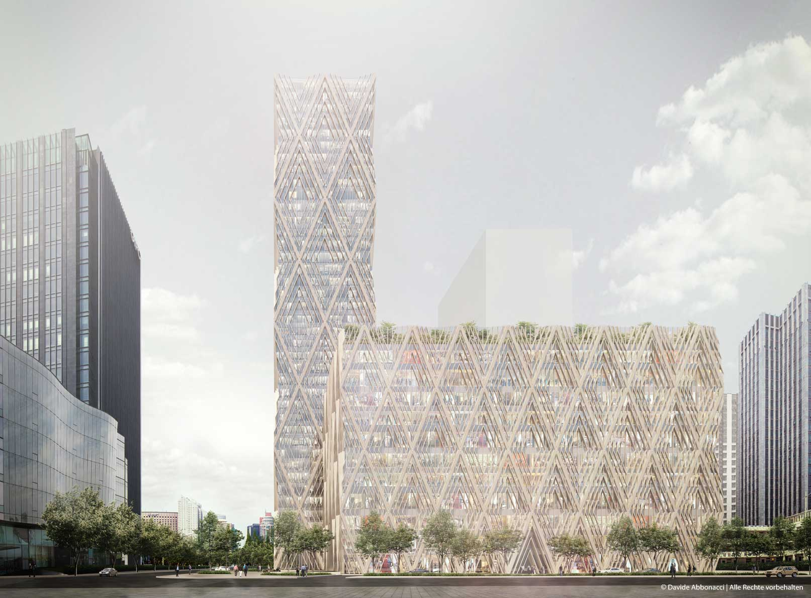 High-rise Building in Shanghai | Adjaye Associates | 2013 Studie