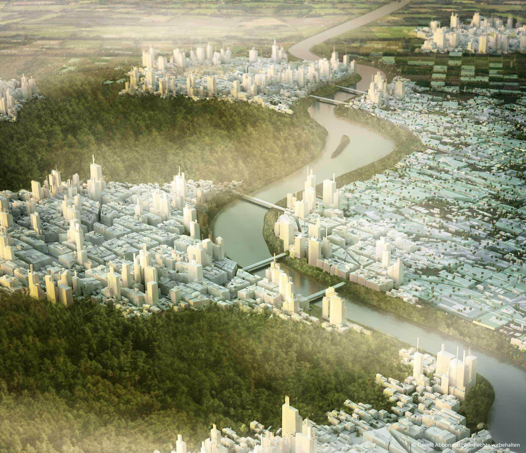 Grand Paris - Métropole Douce - Propositions for the Post-Kyoto Metropolis | LIN Architects Urbanists | 2009 Masterplan - Studie