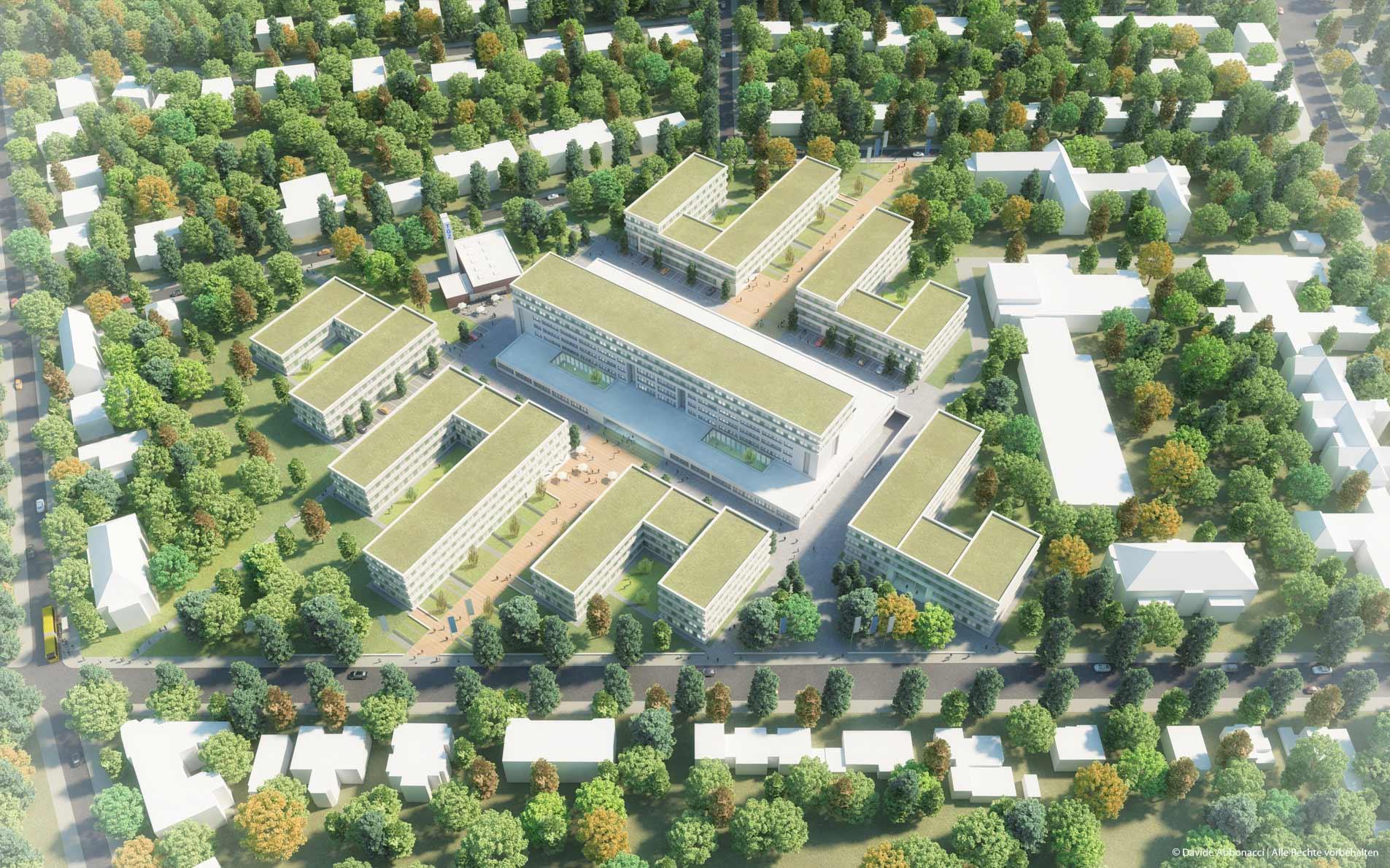 Technologie- und Gründerzentrum Südwest, Berlin | Numrich Albrecht Klumpp Architekten | 2015 Masterplan