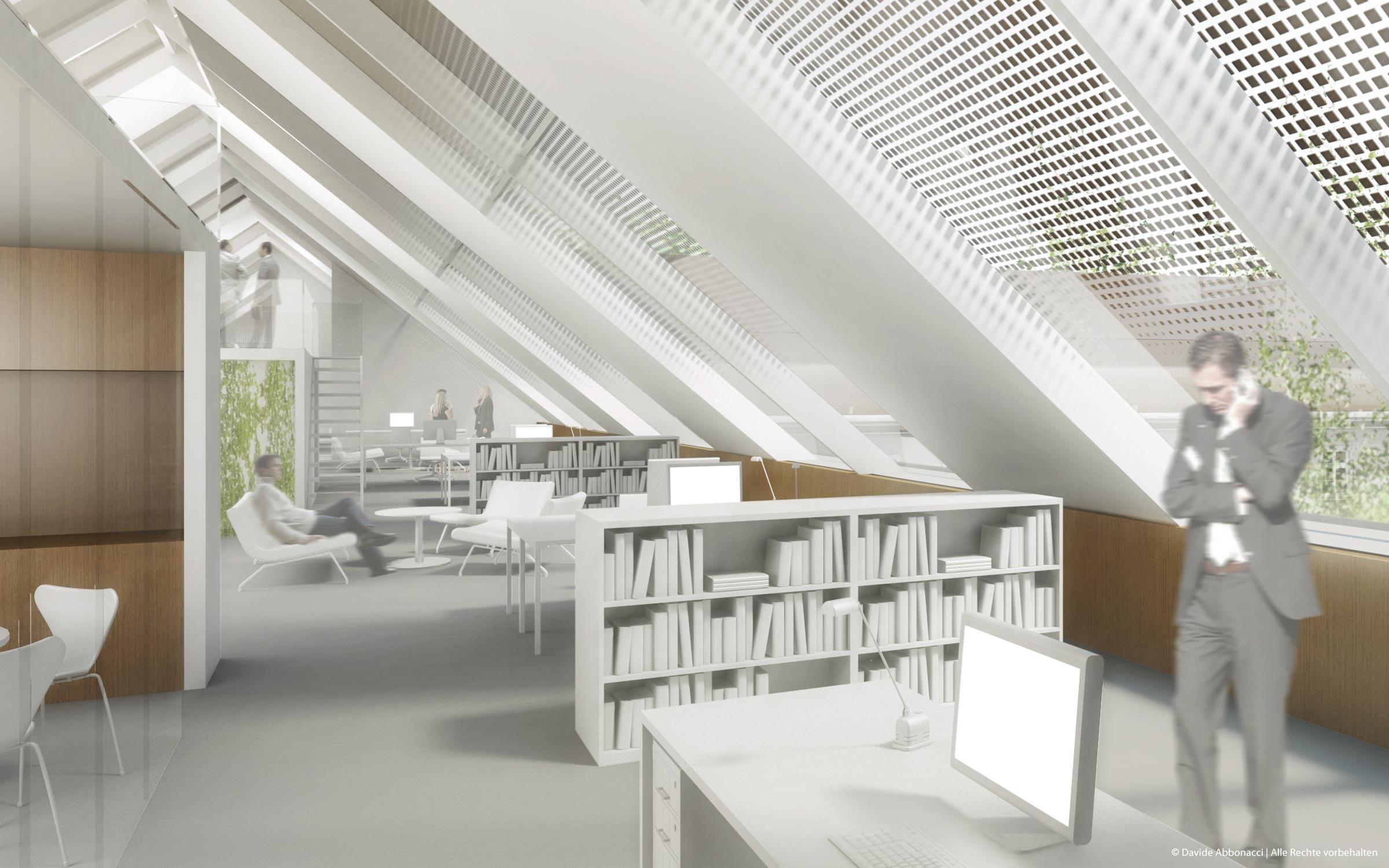 Umweltbundesamt, Berlin | Numrich Albrecht Klumpp Architekten | 2010 Wettbewerbsvisualisierung