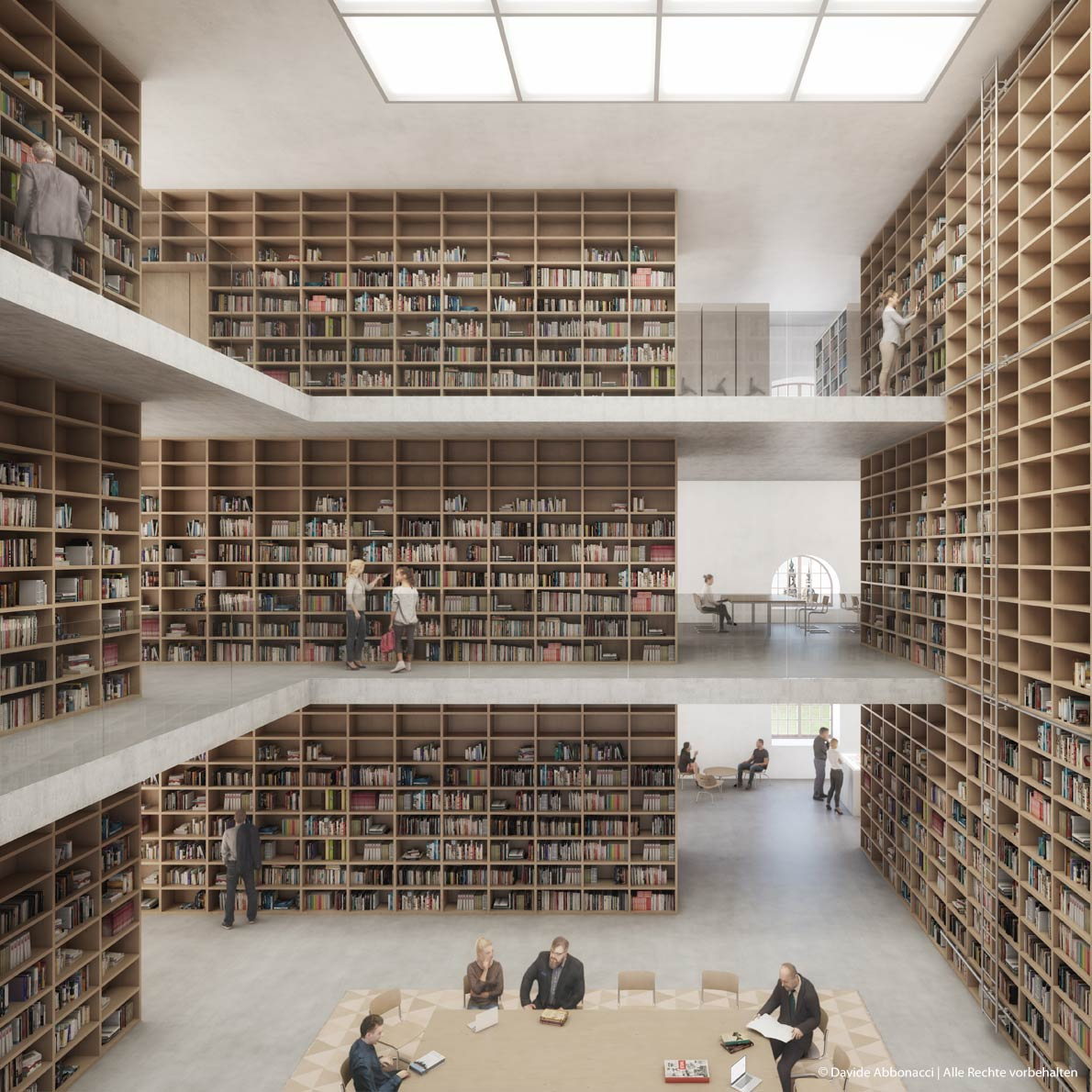 Archiv der Avantgarden, Dresden | Georg Scheel Wetzel Architekten | 2017 Wettbewerbsvisualisierung