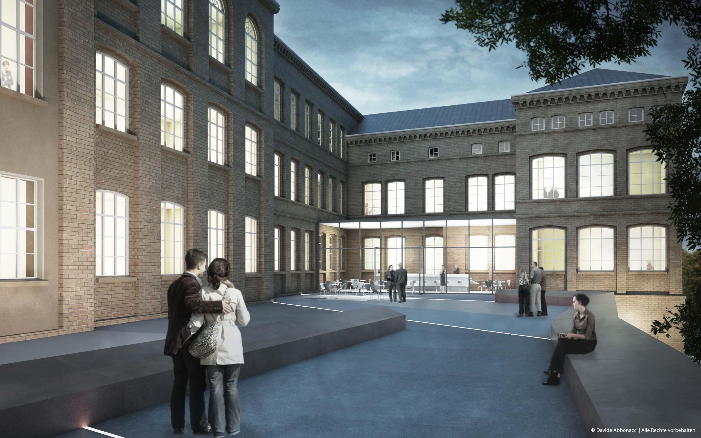 Bürgerbegegnungszentrum, Eberswalde | Numrich Albrecht Klumpp Architekten | 2010 Wettbewerbsvisualisierung | 1. Preis