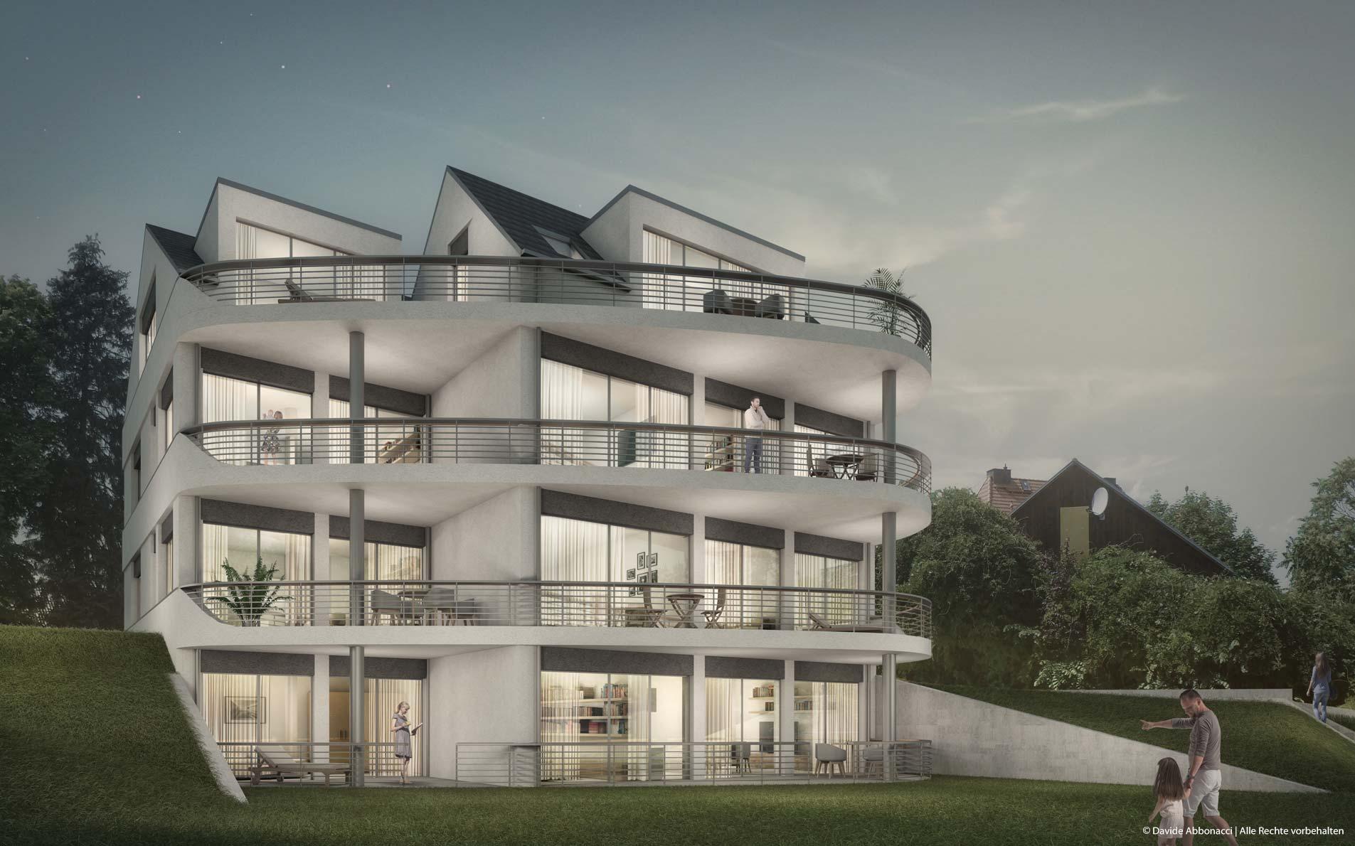 Wohnhaus Grünheide | Weiß & Faust Architekten | 2019 Projektvisualisierung