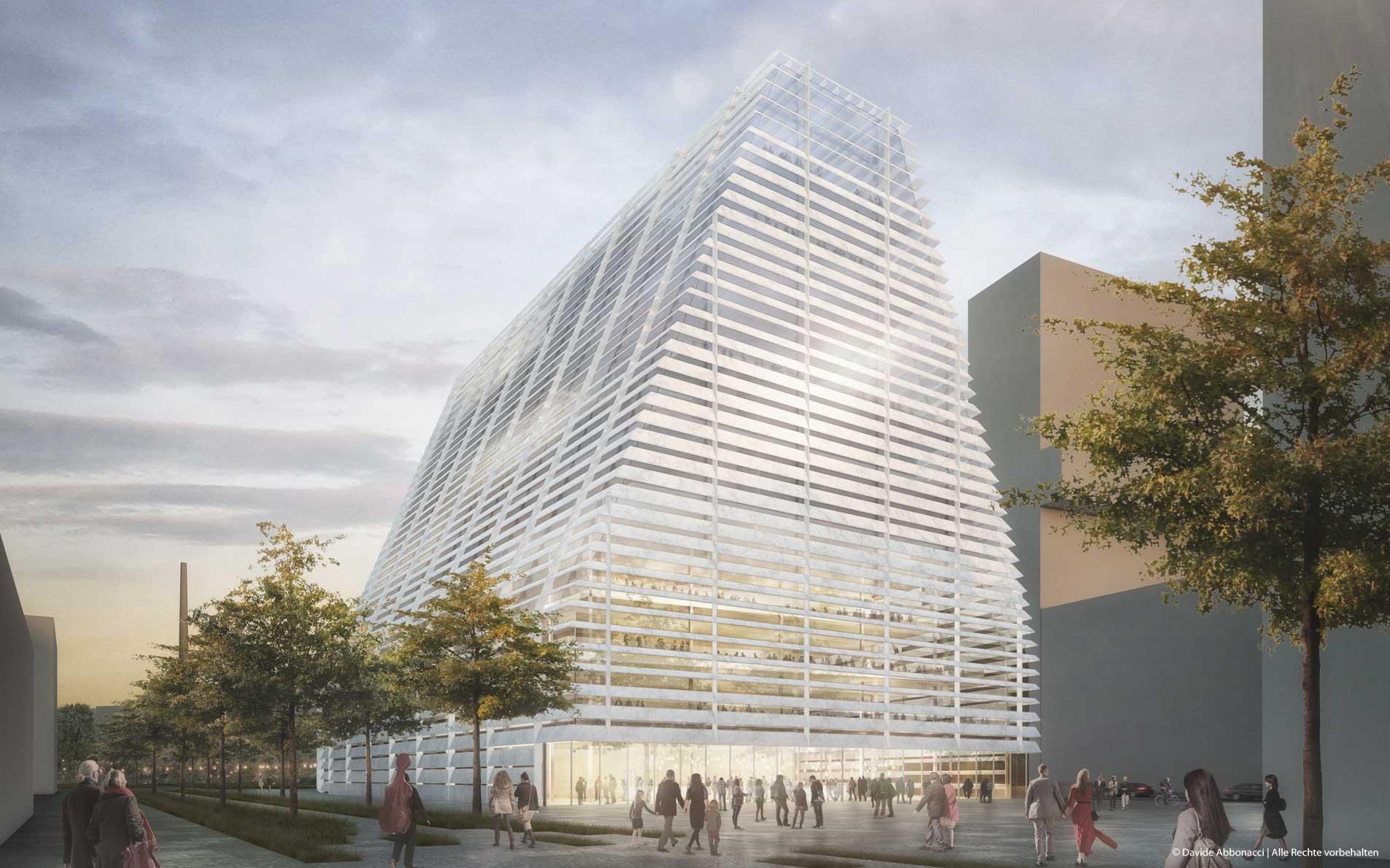 Konzerthaus München | Georg Scheel Wetzel Architekten | 2017 Wettbewerbsvisualisierung