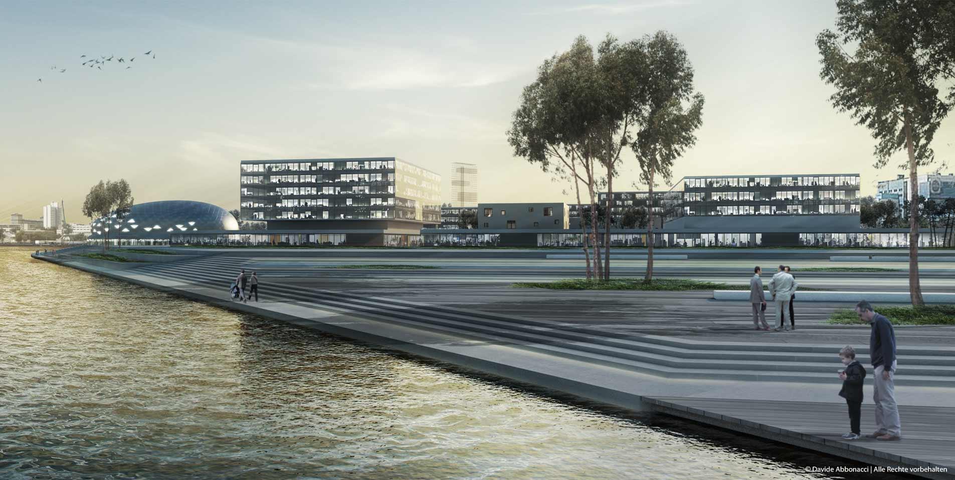 ZIL Pioneer, Moscow, Russia | Uberbau Architecture & Urbanism  | 2012 Wettbewerbsvisualisierung | 1. Preis