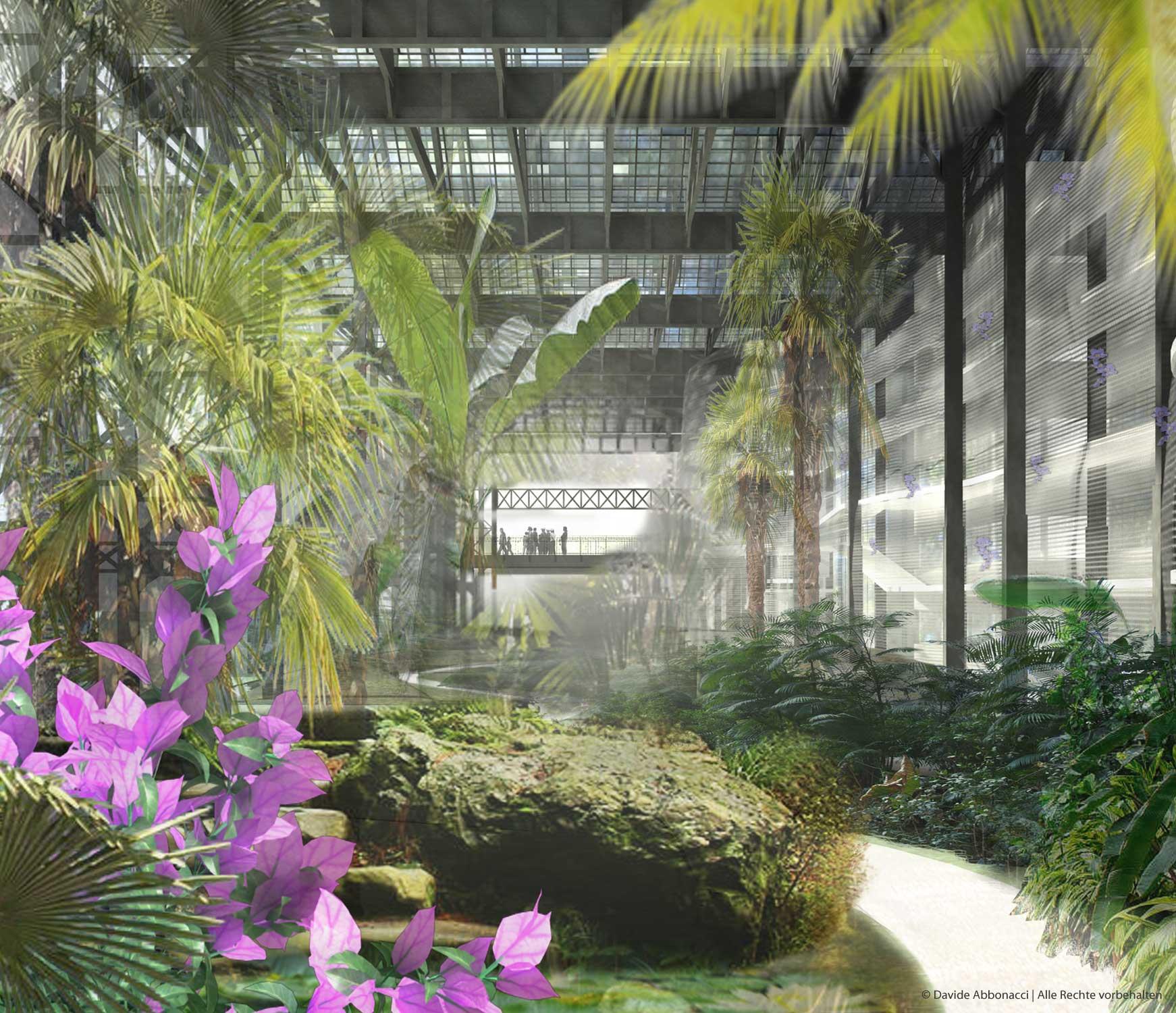 Paris Zac Pajol, Paris | LIN Architects Urbanists | 2007 Wettbewerbsvisualisierung