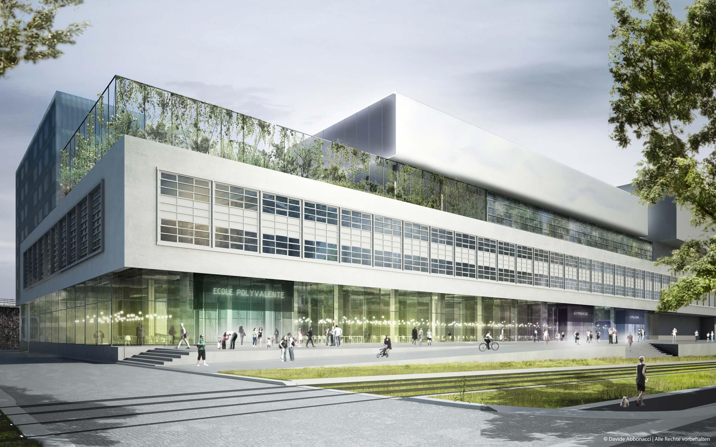 Paris Mac Donald, Paris | LIN Architects Urbanists | 2009 Wettbewerbsvisualisierung | Mitarbeiter: Tom Hemmerich