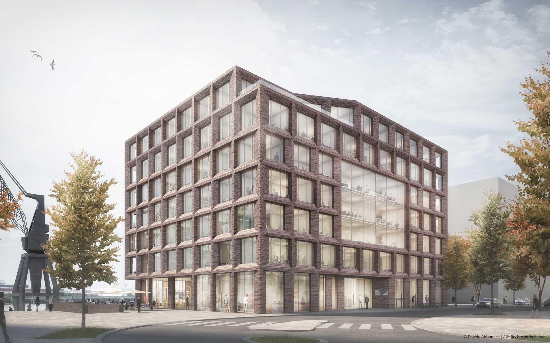Enerparc Hafencity, Hamburg | Gewers Pudewill Architekten | 2017 Wettbewerbsvisualisierung