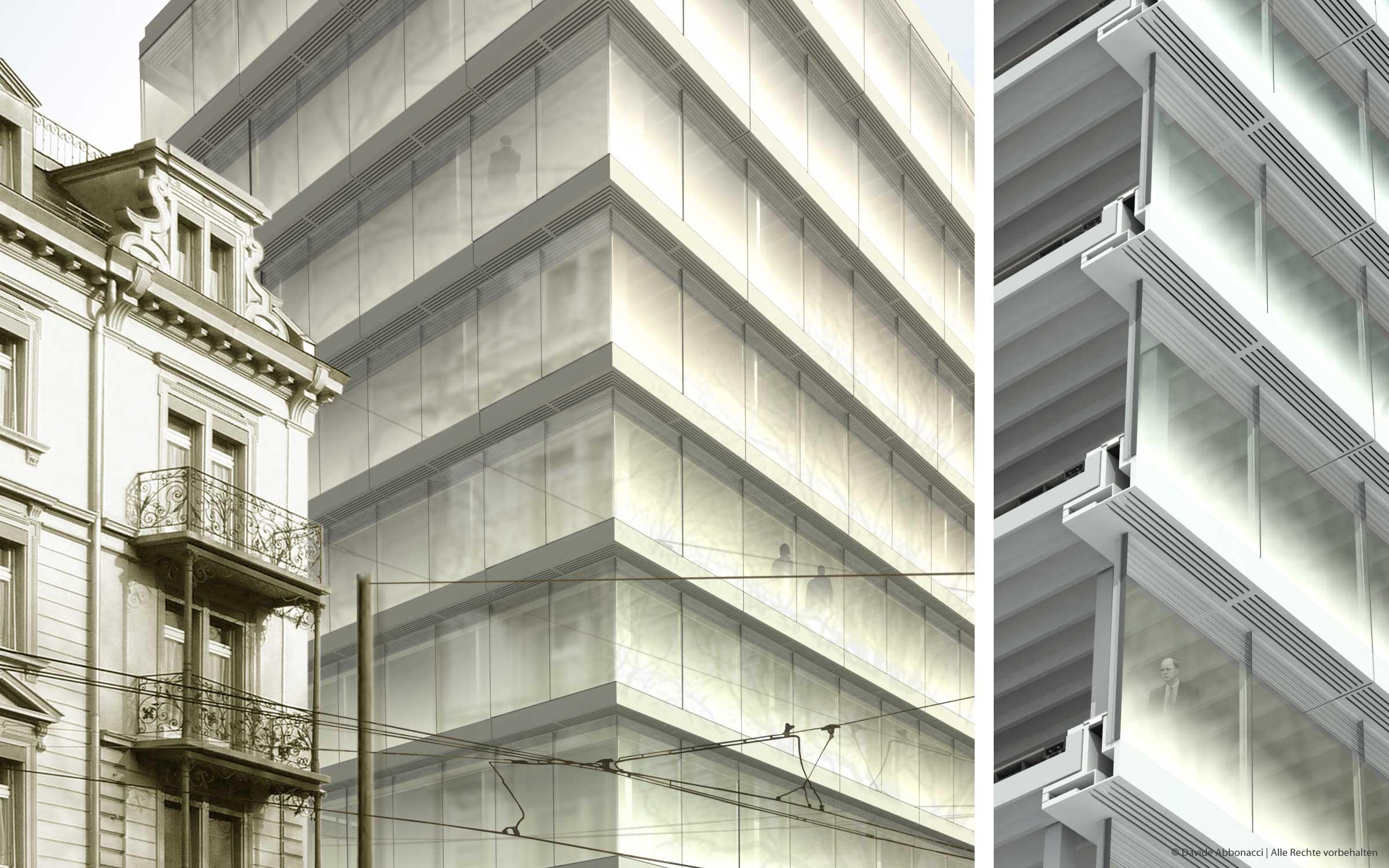 ETH, Zürich   Heide - Von Beckerath - Alberts Architekten   2007 Wettbewerbsvisualisierung