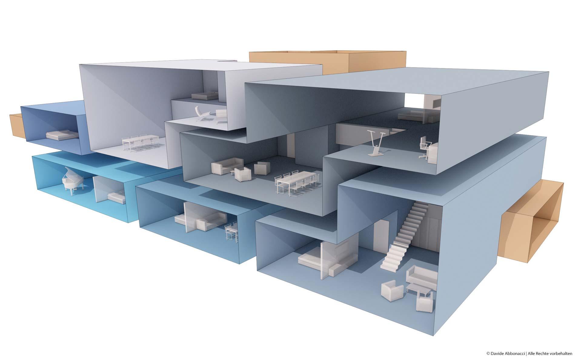 Speicherstadt Hamburg   Christine Edmaier Architektin   2012 Wettbewerbsvisualisierung   Anerkennung