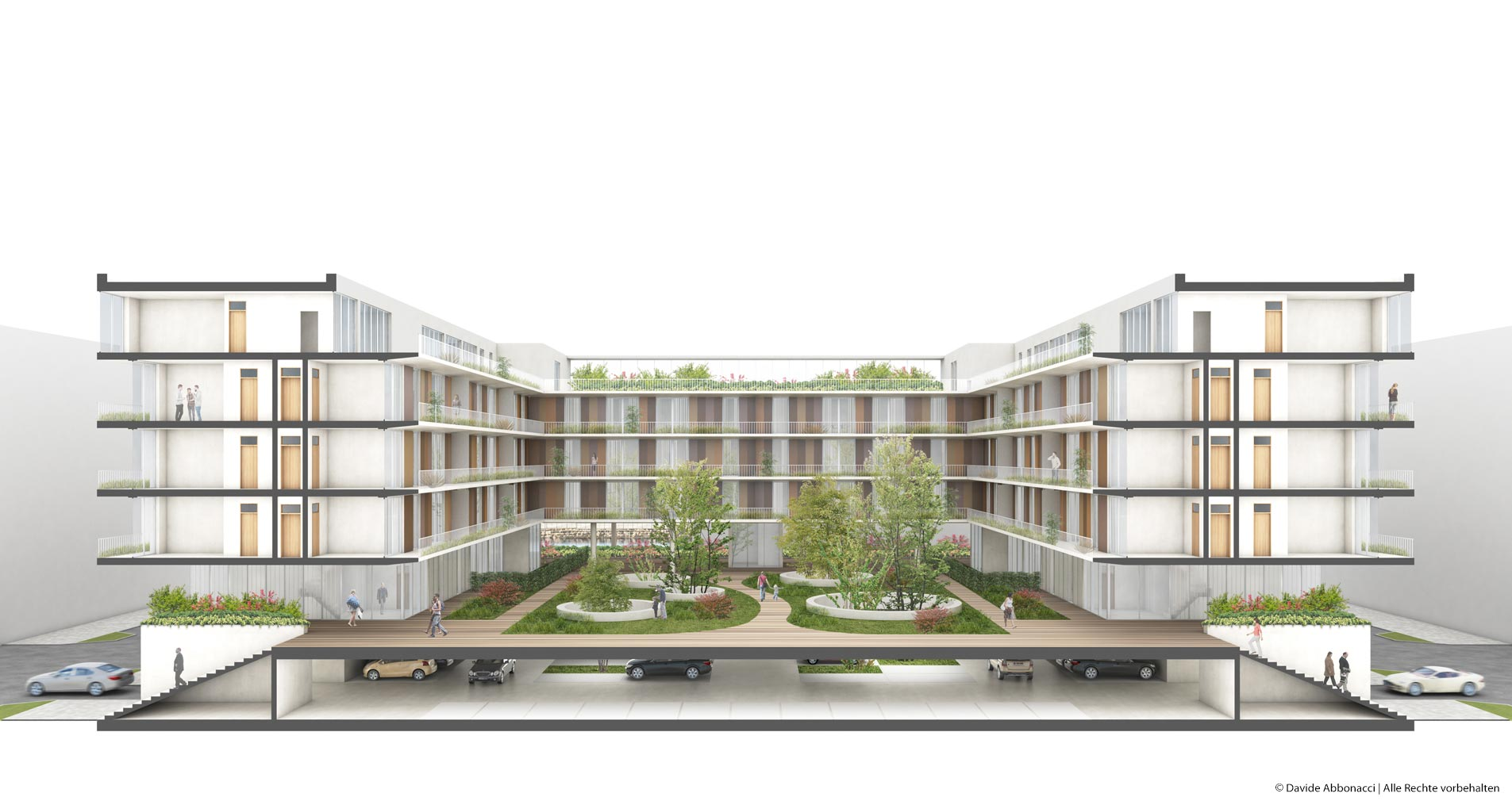 Europacity Riverside, Berlin   brh Architekten + Ingenieure   2016 Wettbewerbsvisualisierung