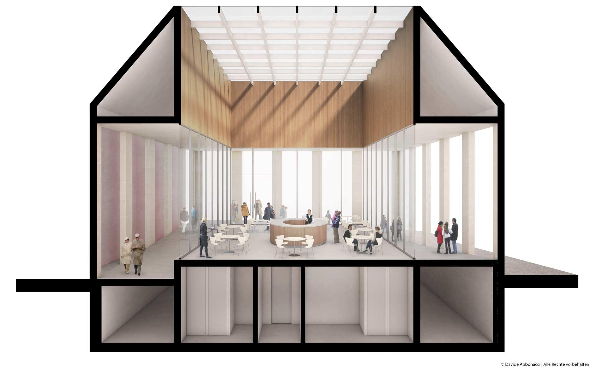 Höfe am Kaffeeberg Ludwigsburg, Stuttgart   Kuehn Malvezzi Architekten   2013 Wettbewerbsvisualisierung