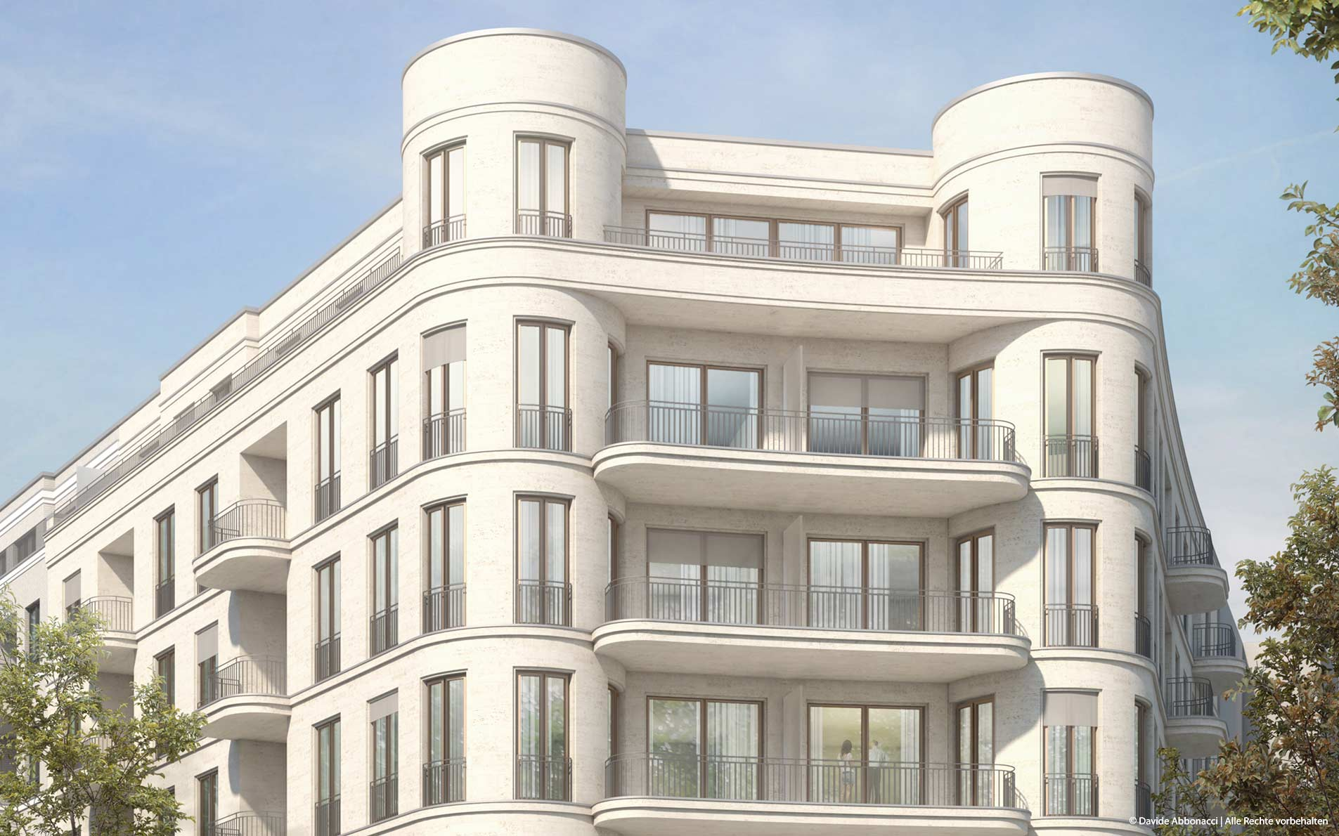 Neubau in Berlin   Wiegand Hoffmann Architekten   2015 Visualisierung Varianten