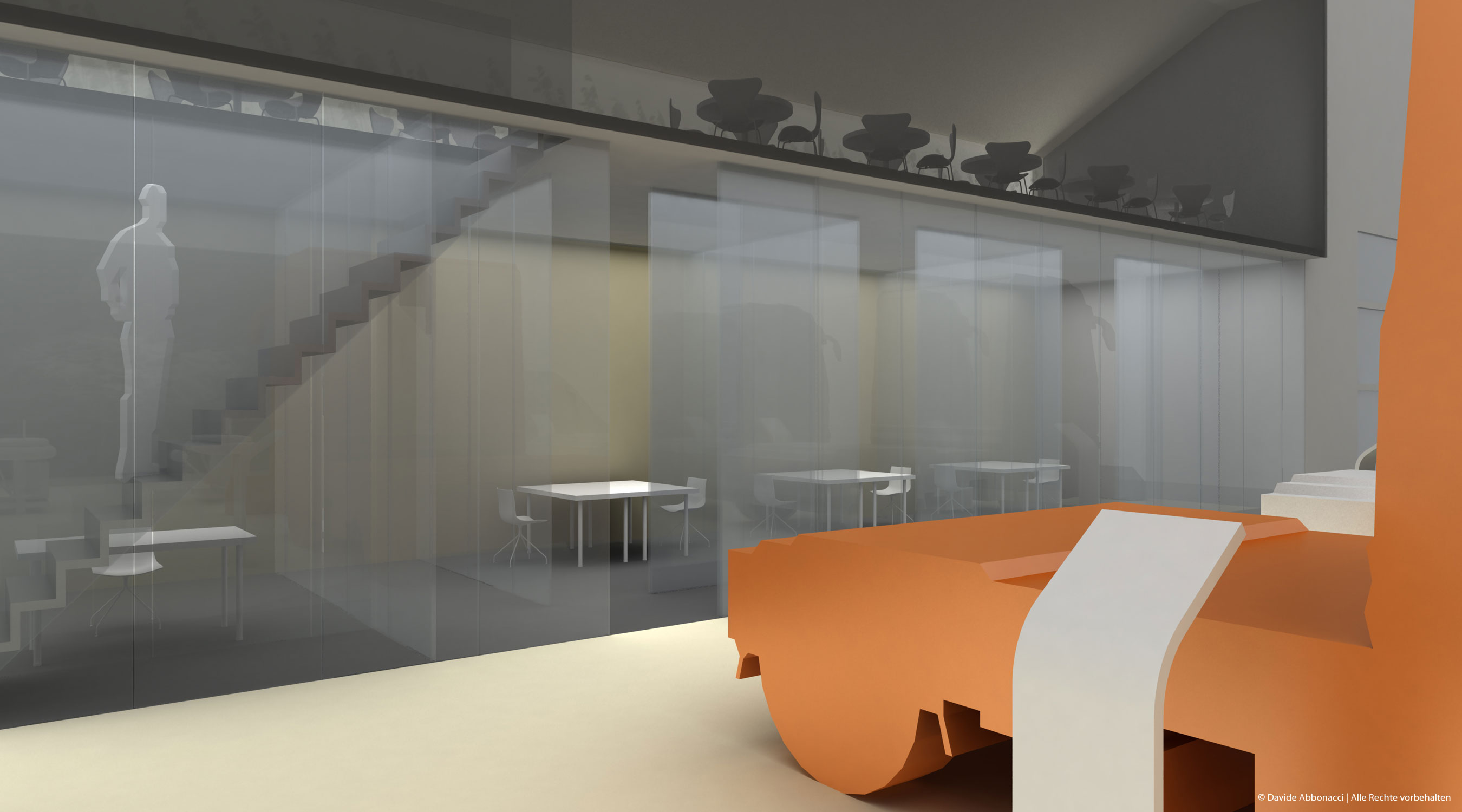 Messestand Mercedes-Benz - Nutzfahrzeuge | Heide & Von Beckerath Architekten | 2010 Testentwurf