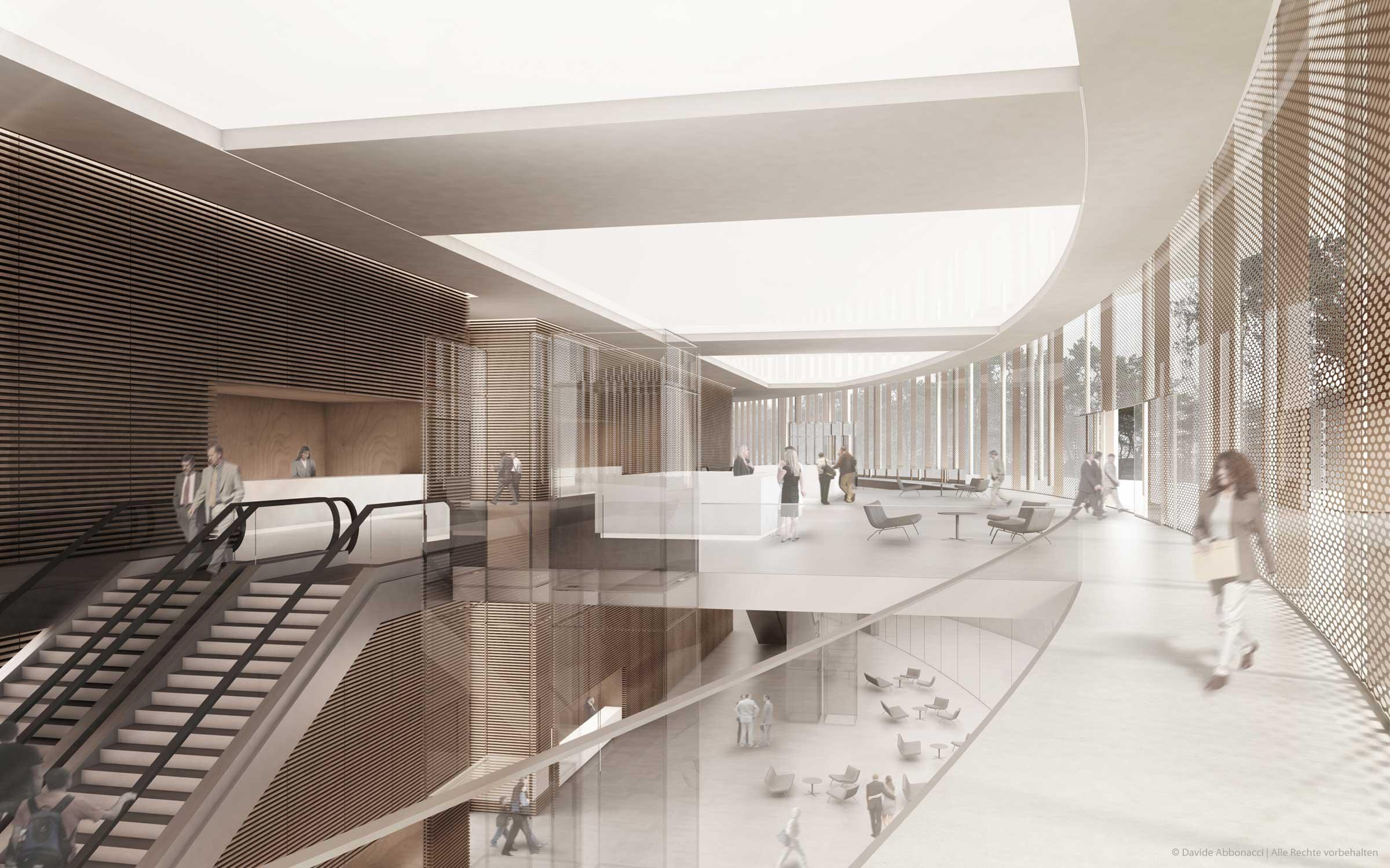 Messe Berlin | gmp Architekten von Gerkan, Marg und Partner | 2011 Wettbewerbsvisualisierung