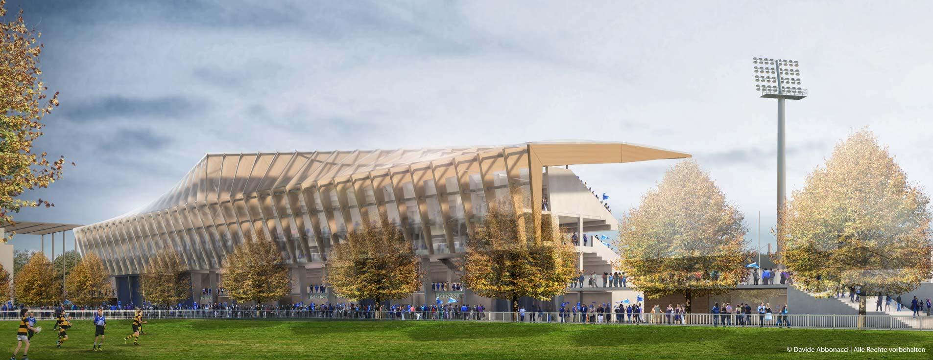 RDS Leinster Rugby Arena Dublin, Ireland | BDP. Building Design Partnership | 2014 Wettbewerbsvisualisierung