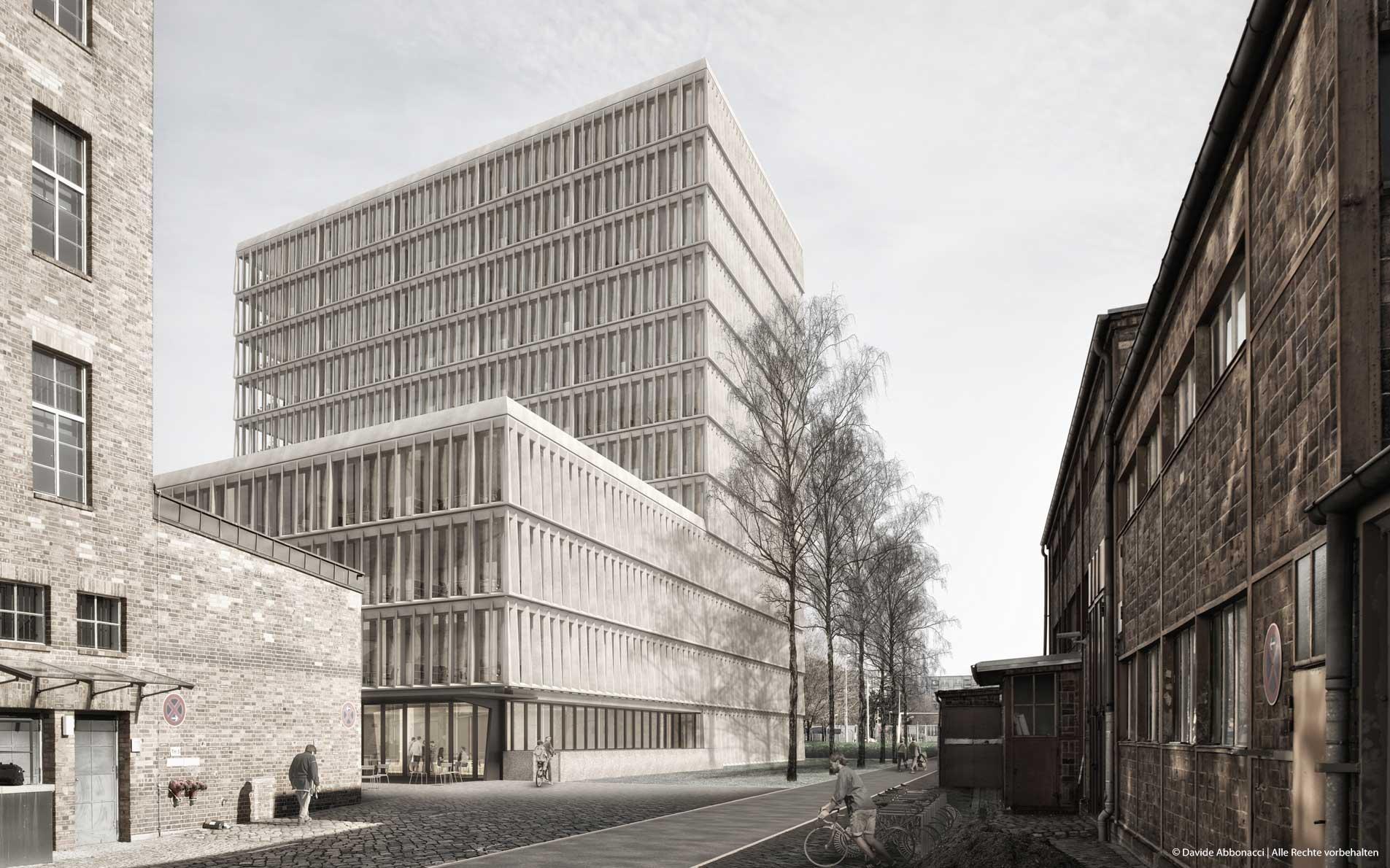 Sellerstrasse 17 | Heide & Von Beckerath Architekten | 2016 Visualisierung Projektpräsentation