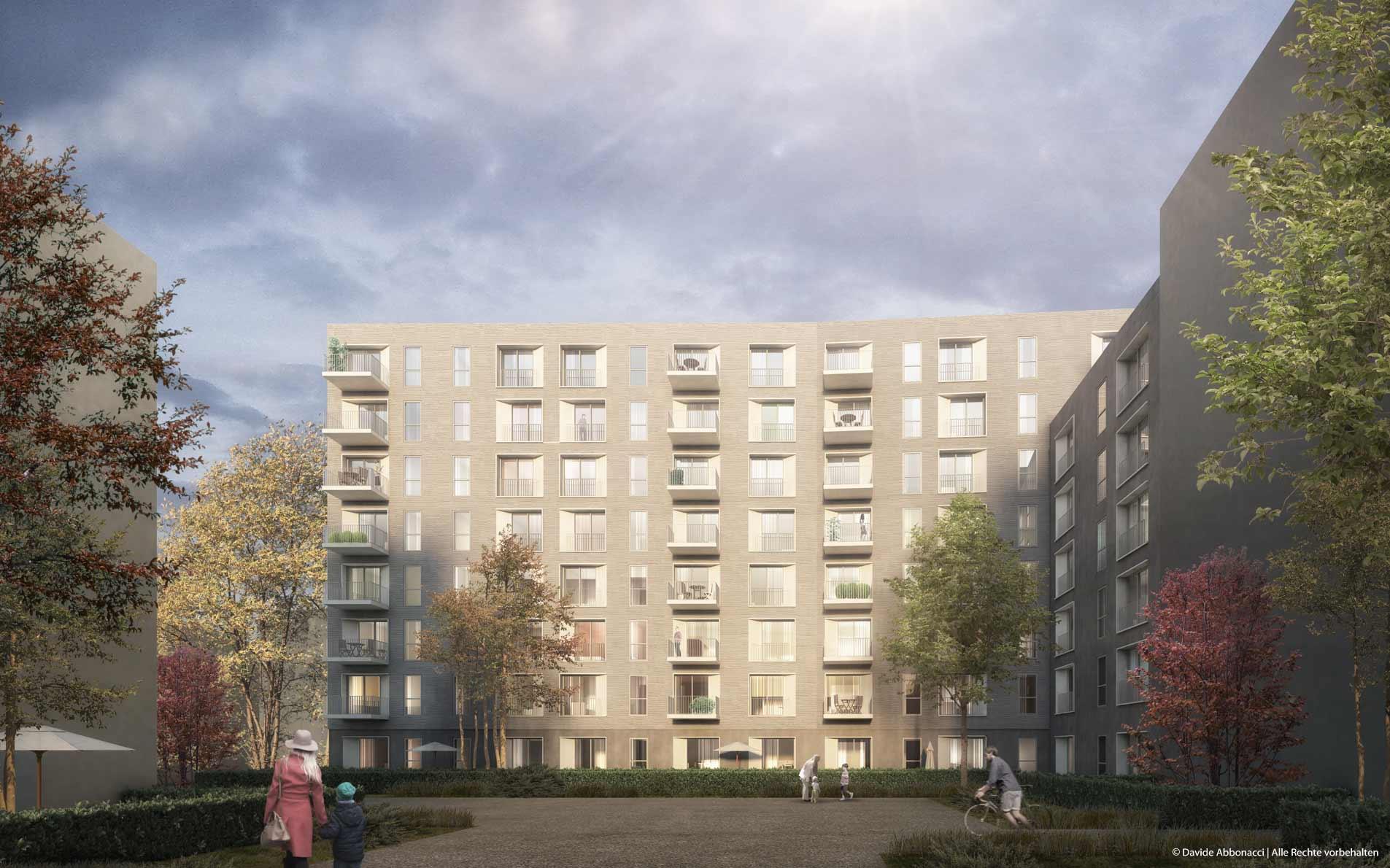 Stallscheiber Quartier, Berlin-Mitte | brh Architekten + Ingenieure | 2015 Wettbewerbsvisualisierung | 1. Preis